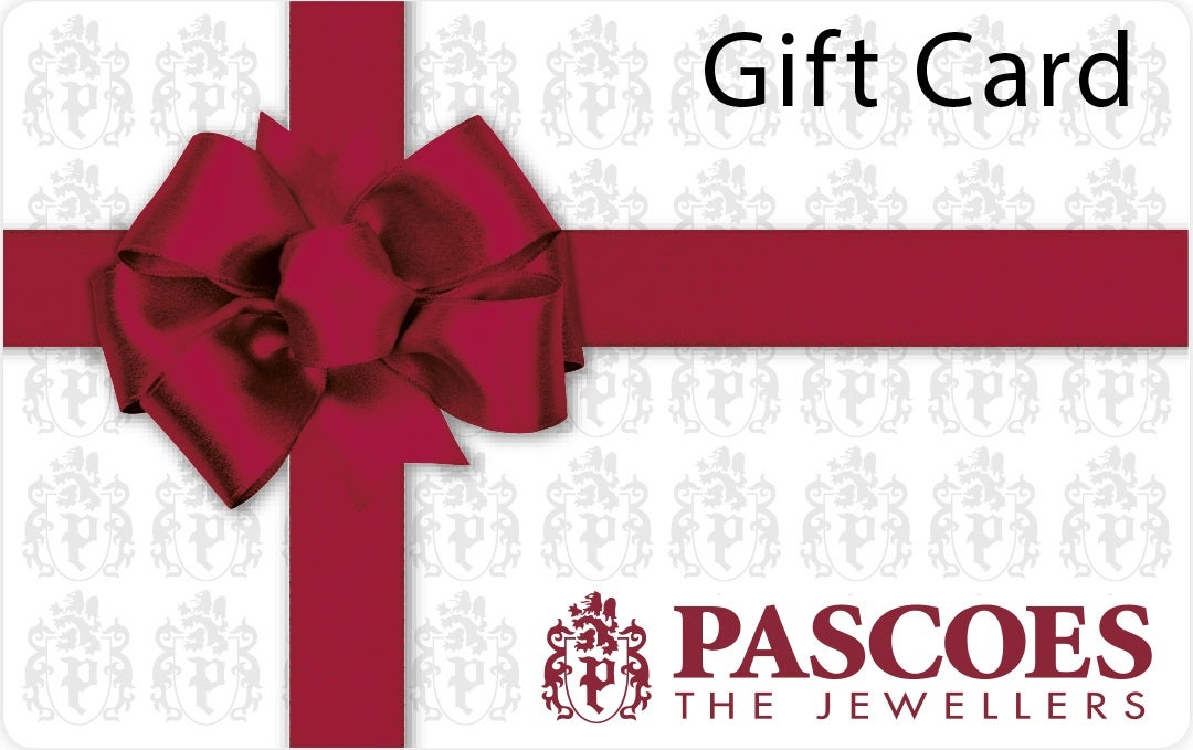 Gift Card. Pascoes The Jewellers