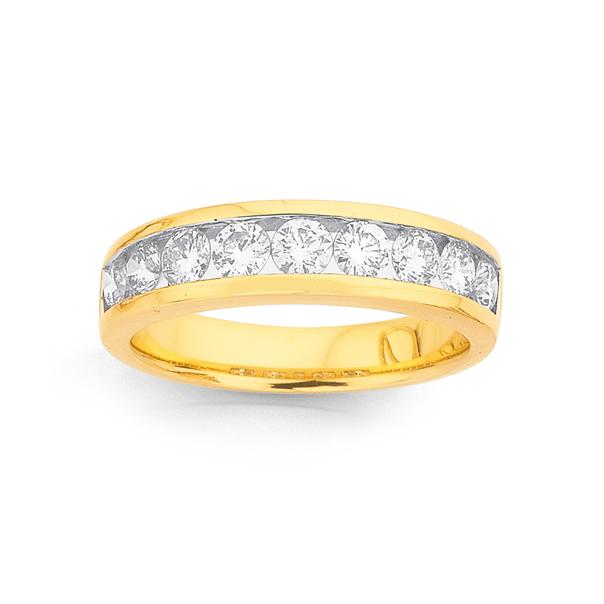 18ct Diamond Ring TDW=1ct