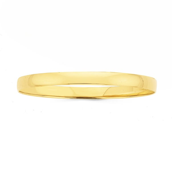 9ct 6x65mm Solid Bangle