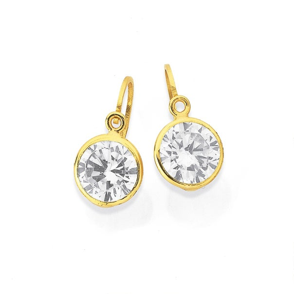 9ct Cubic Zirconia Earrings