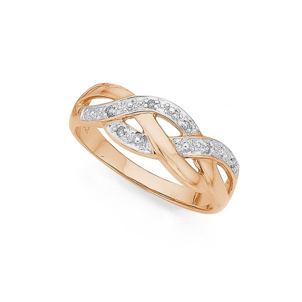 9ct, Diamond Ring