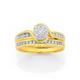 9ct Diamond Ring TDW=.50ct