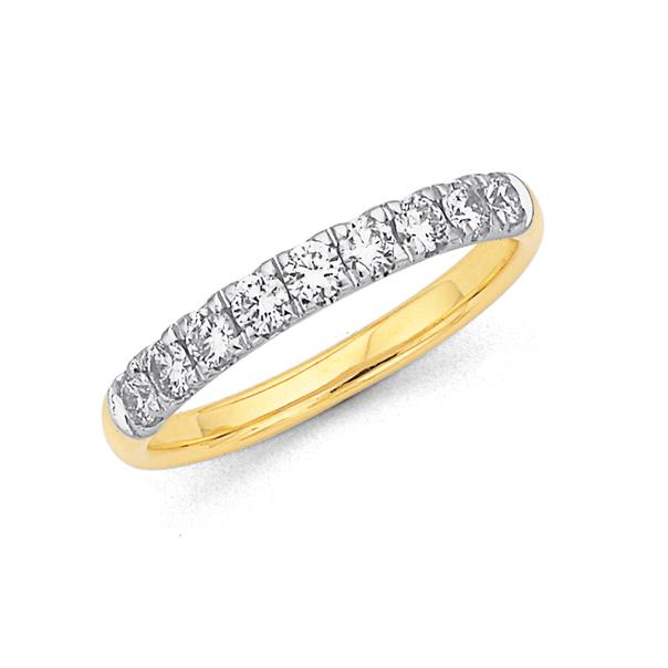 9ct Diamond Ring TDW=.52ct
