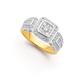 9ct Diamond Ring TDW=.75ct