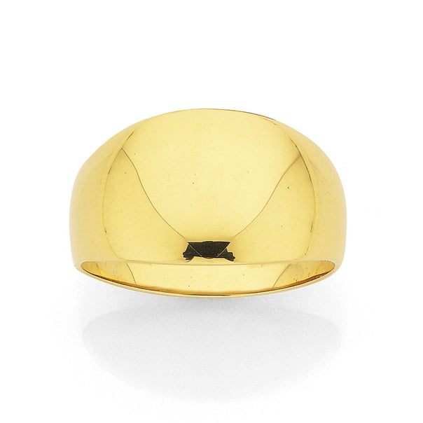 9ct Dome Ring