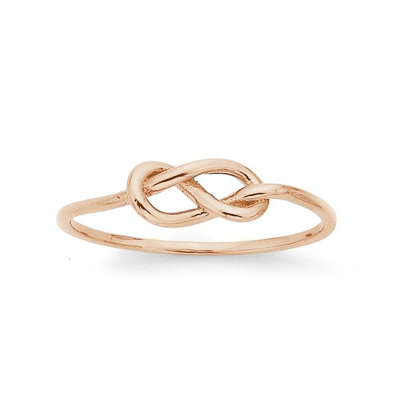 Knot Ring in 9ct Rose Gold