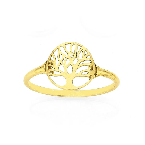 9ct Gold Tree of Life Ring