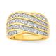 9ct Wide Diamond Ring TDW=1.00ct