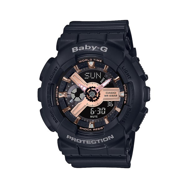 Casio Baby-G BA110RG-1A Rose Accent Series