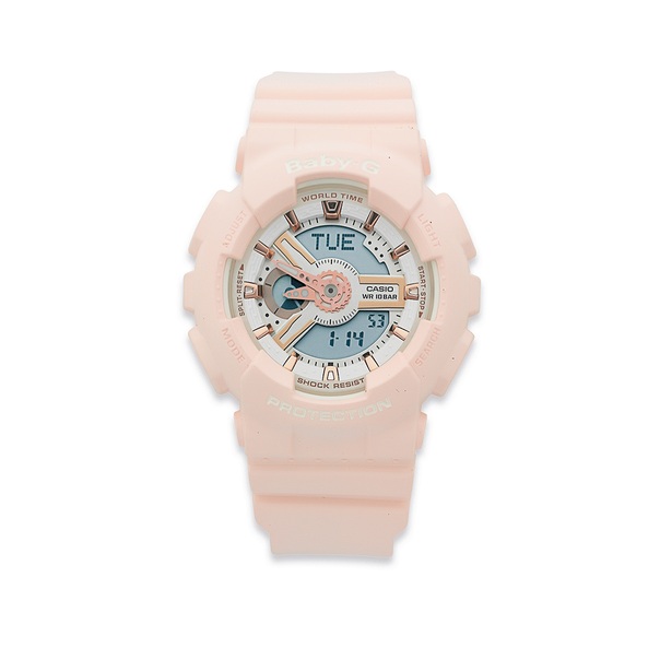Casio Baby G Pink Resin 100m Water Resistant Watch