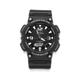 Casio Gents Duo 100m Solar Resin Band Watch