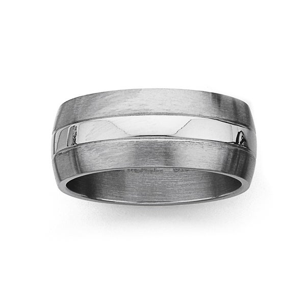 Chisel Stainless Steel Ring