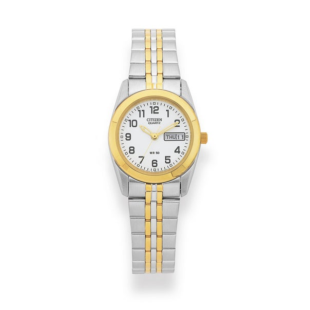 Citizen Ladies Two Tone 50m Water Resistant Watch