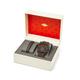 Fossil Machine Chronograph Watch & Leather Bracelet Box Set