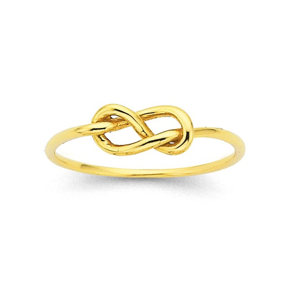 Knot Ring in 9ct Yellow Gold