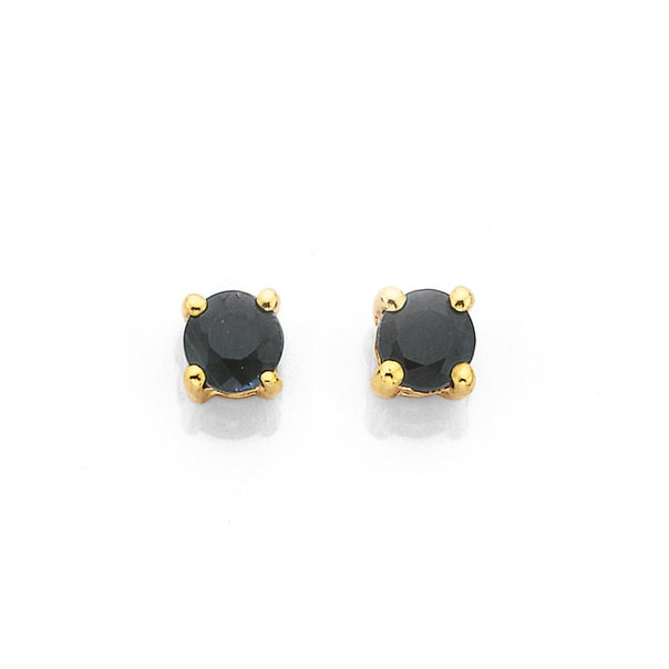 Sapphire Studs in 9ct Gold